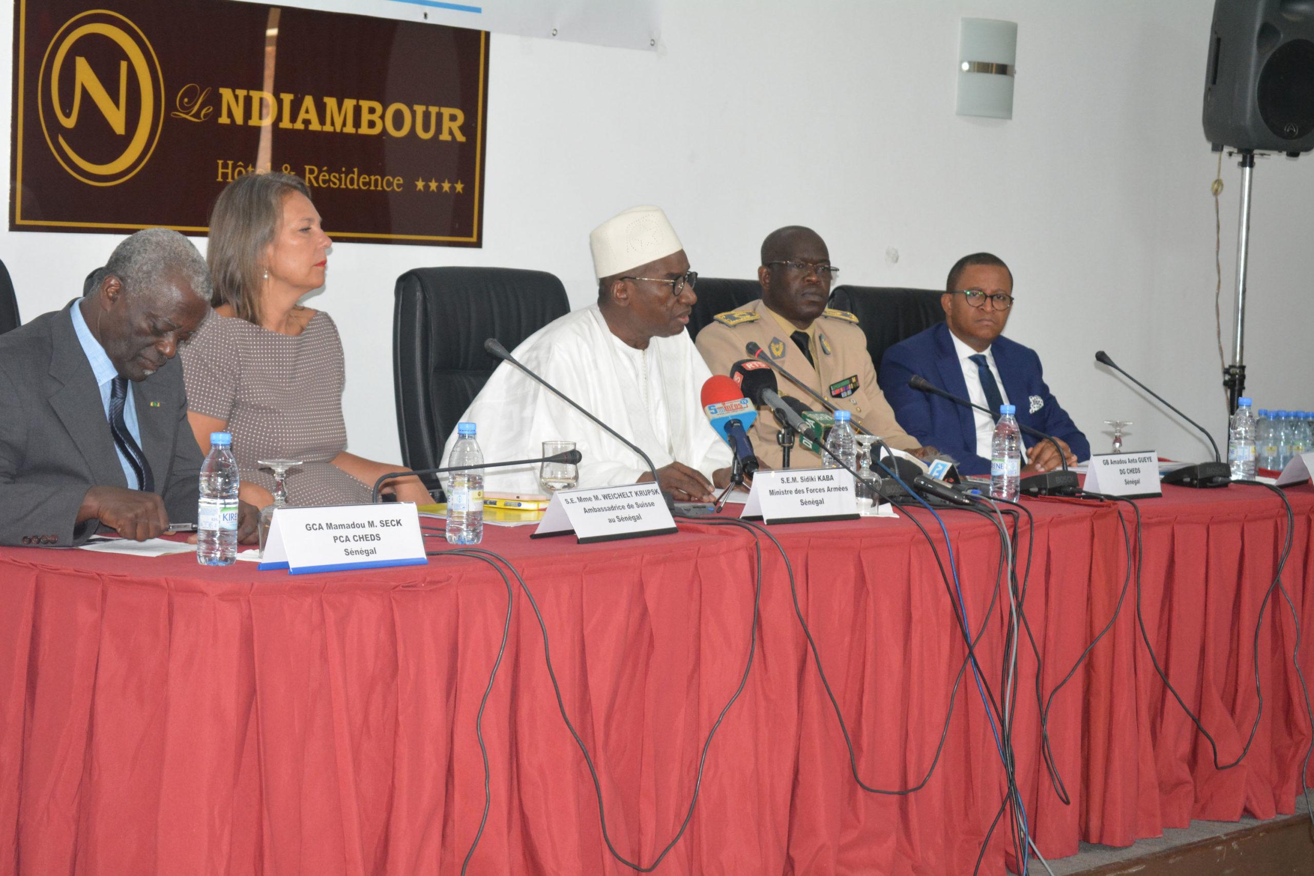 Panel de clôture du troisième Séminaire Régional des forces de défense et de Sécurité pour la Prévention de l'extrémisme Violent en Afrique.