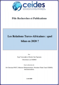 Les Relations Turco-Africaines : quel bilan en 2020 ?