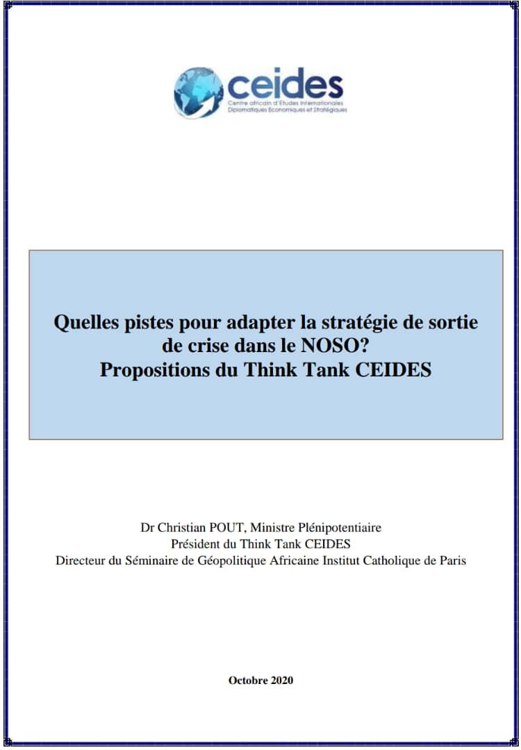 Quelles pistes pour adapter la stratégie de sortie de crise dans le NOSO?