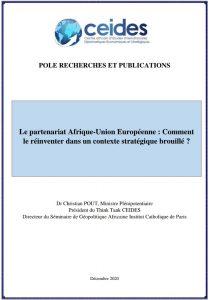 Le partenariat Afrique-Union Européenne : Comment le réinventer dans un contexte stratégique brouillé ?