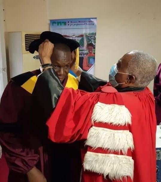 Félicitations au Docteur Roméo Saa Ngouana !